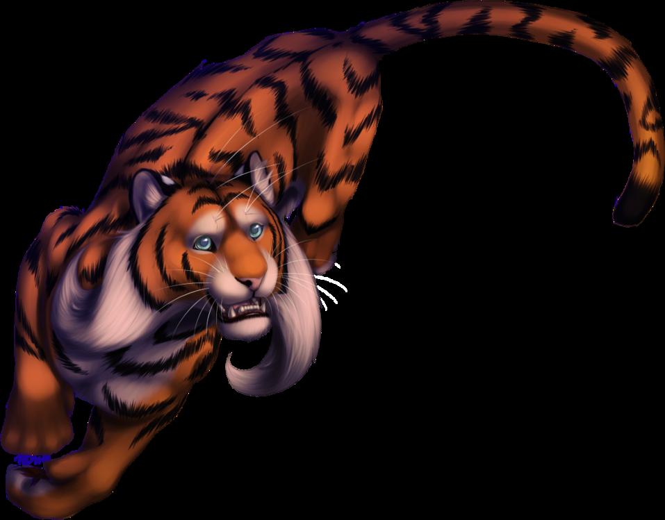 M Comm Teh-evil-tigress