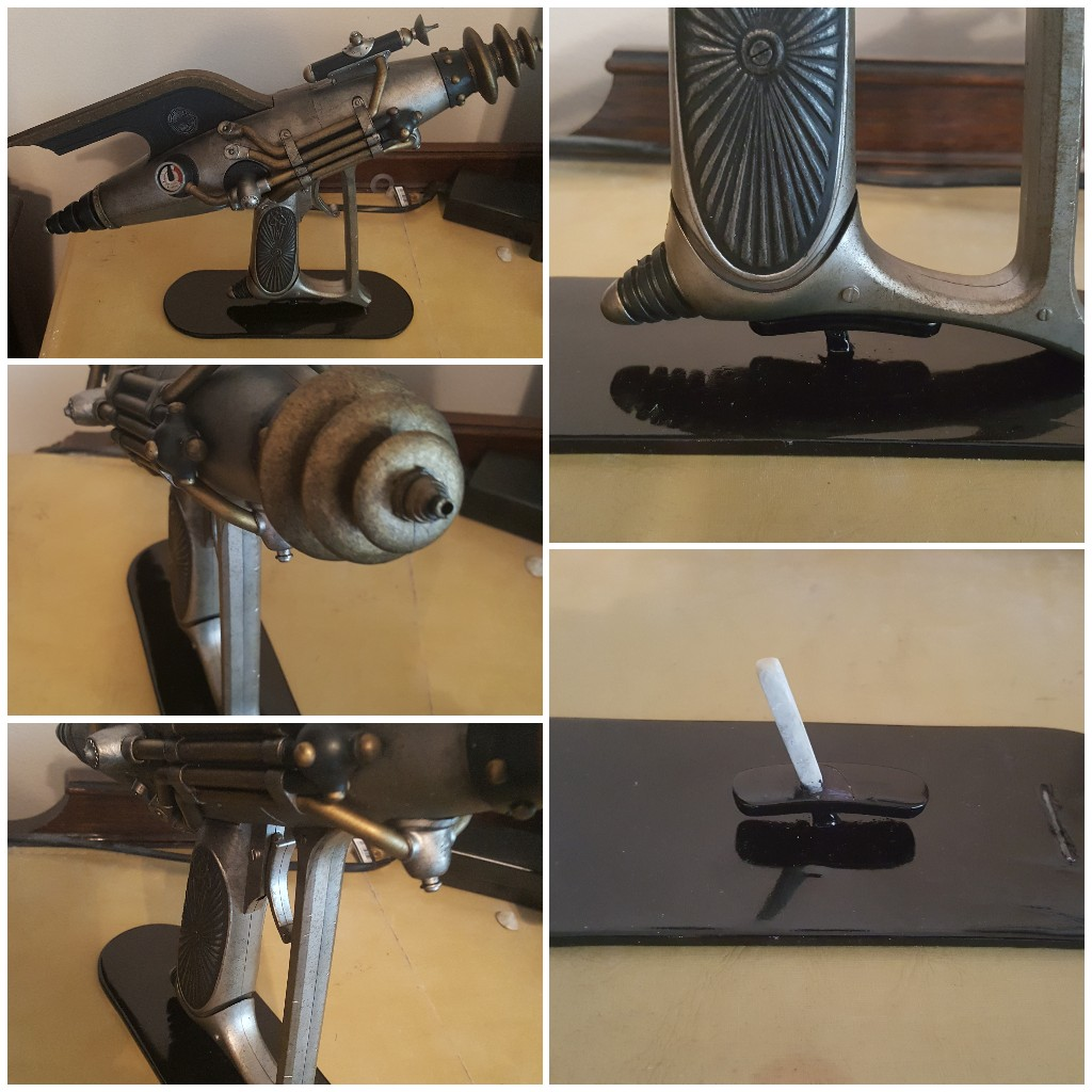 Most recent image: Custom Dr. Grordbort's Righteous Bison Raygun Stand: Minimalist Design