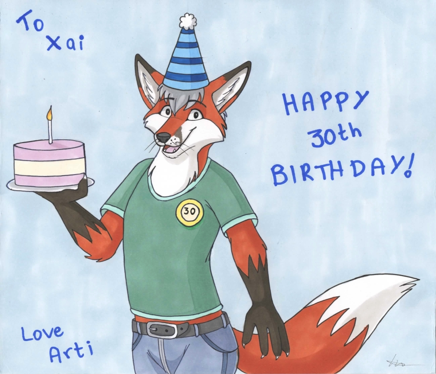 Happy 30th Birthday Xai ^v^