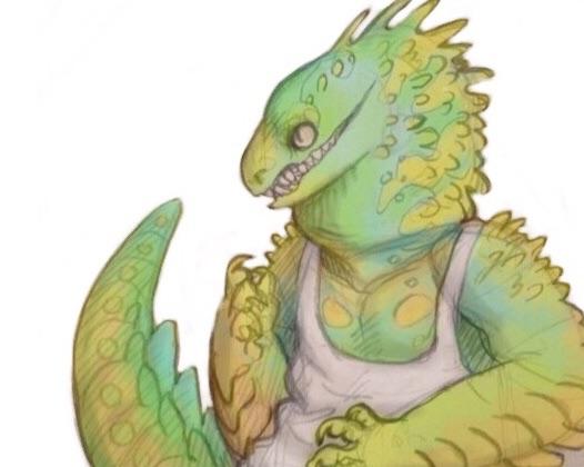 lizard time