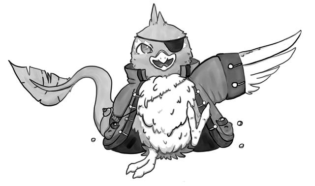 Pirate Pteri Commission