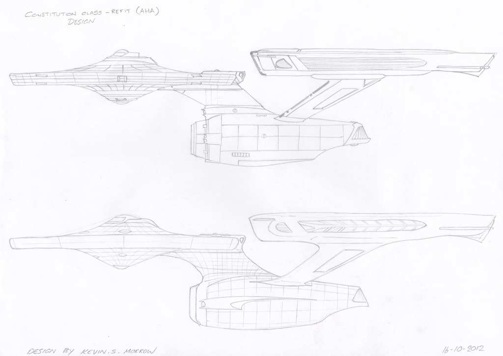 Constitution Class Refit - Ablative Hull Armour