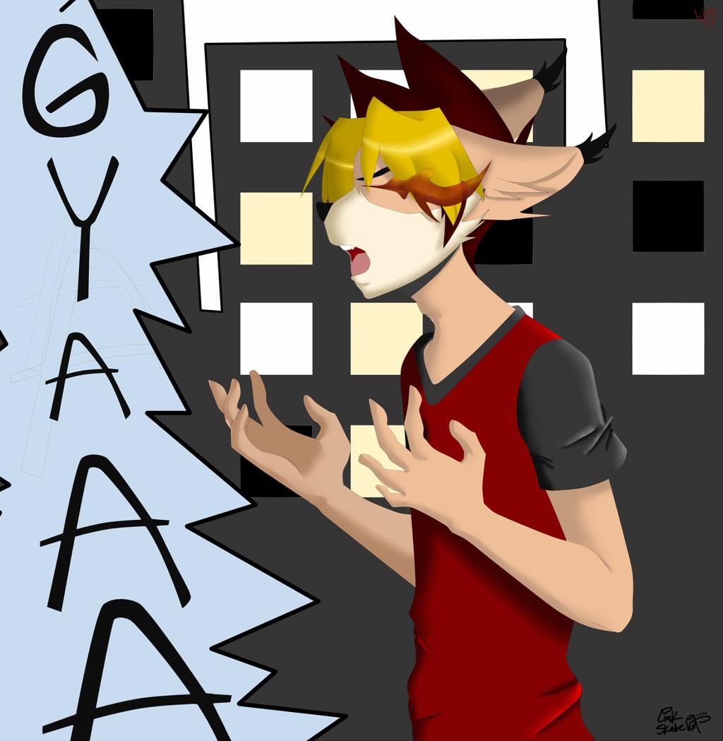 Link - Yelling