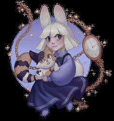 Alice and friend - April Raffle Winner