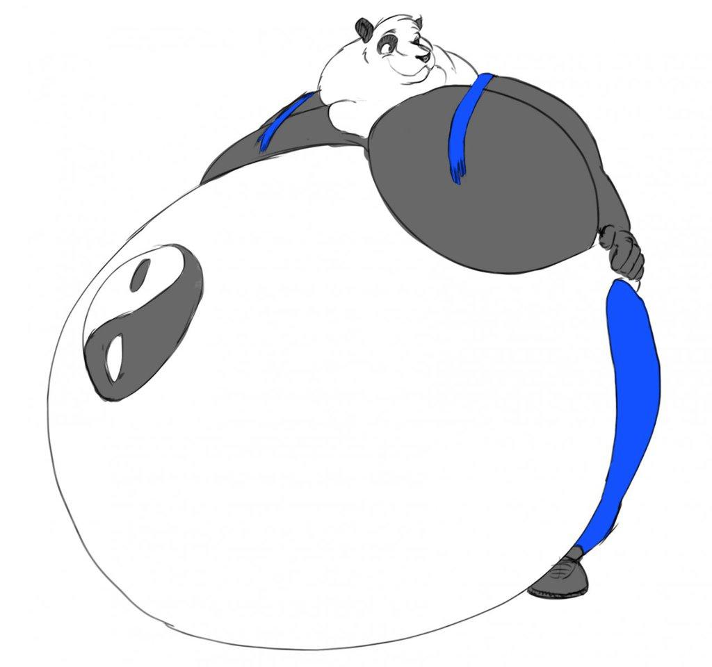 Gorgabing Gained Weight