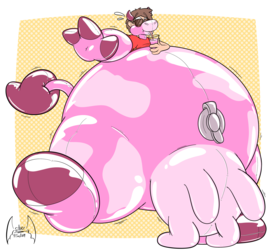 Squeaky Strawberry by Silver