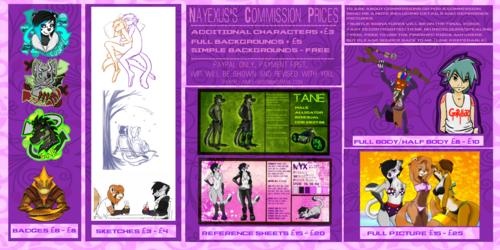 Commissions!