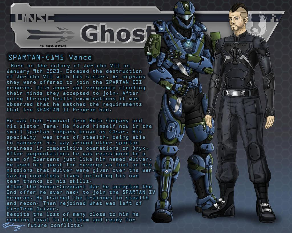 Halo- FireTeam QUIVER Data File: Quiver Ghost