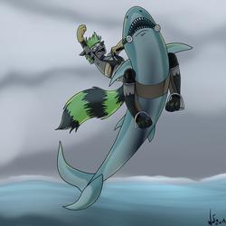 SharkWeek AcidBlue