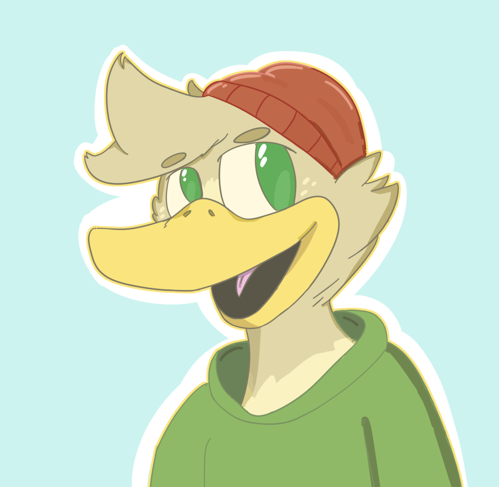 another duck doodle