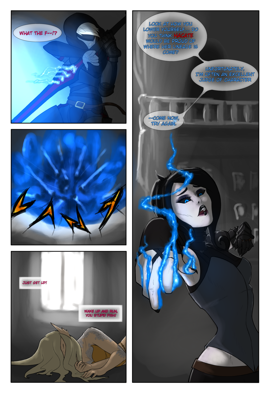 The Pale, The Black - pg 1