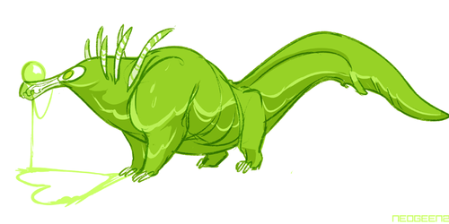 Daily Neo - Snot Monster