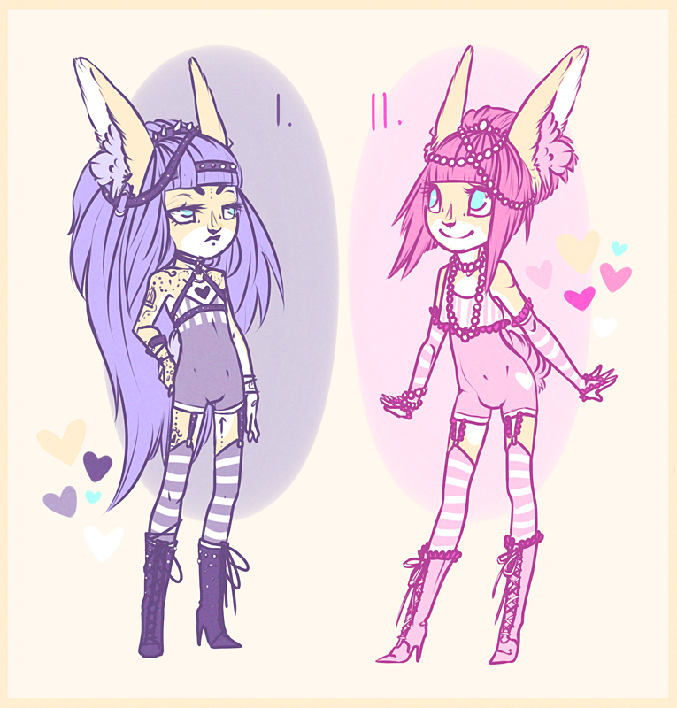 Adopts 1 and 2 -Sold