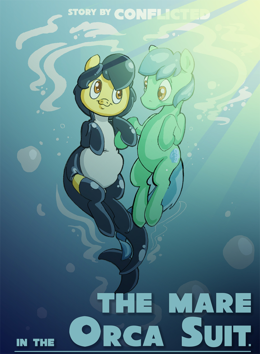 Most recent image: The Mare in the Orca Suit
