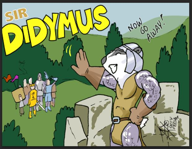 Sir Didymus Badge Feral 2014 - Taunt