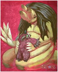 Savi Monster and Rufus Doll