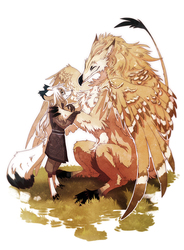 Boy and his Griffin