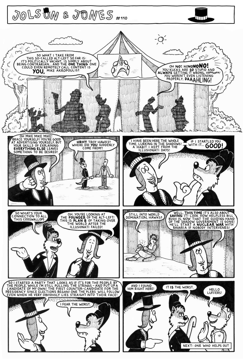 Jolson & Jones #110 - Plan B