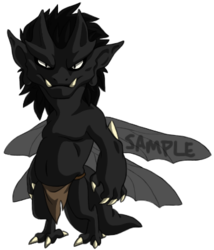 Sample Adoptable Imp - Black
