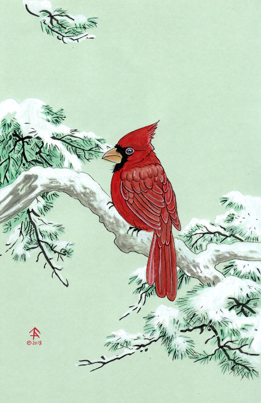 Most recent image: Japanese Cardinal