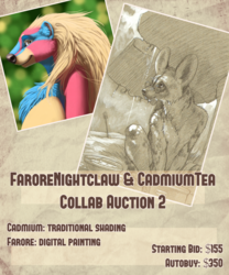 Farore x Cadmiumtea Collab Auction! Digital Painting Edition