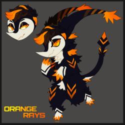 Orange Rays [MYO Puddi]