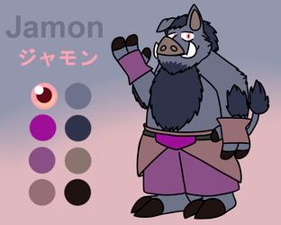 Jamon (Casual) Reference Sheet