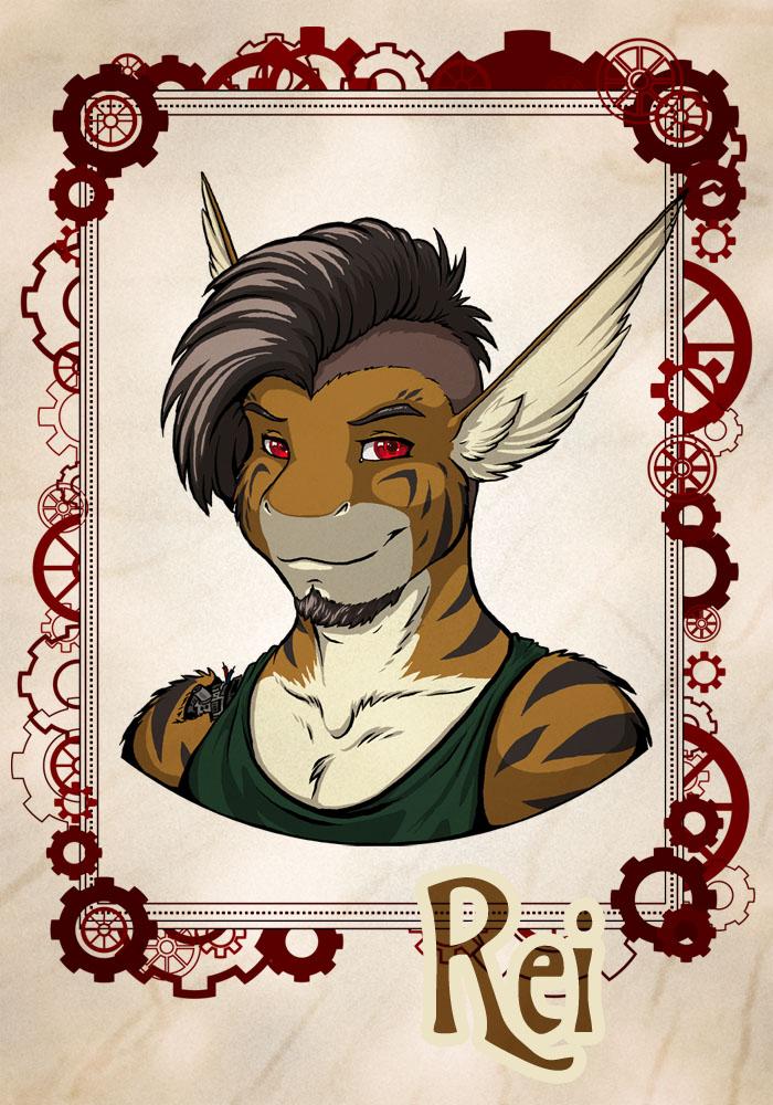 Badge: Rei (Fur-Eh! 2015)