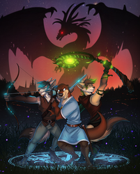 Faircrest Furries - Comic/Movie Poster