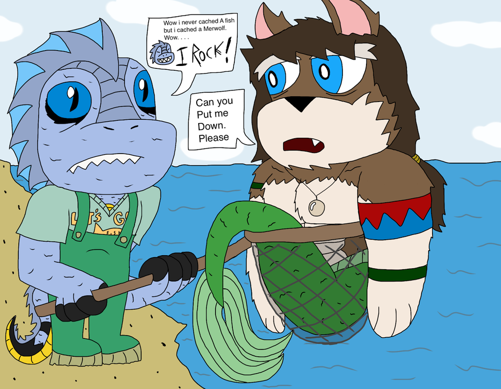 the things i Sea and cach (gift to Wolfy)