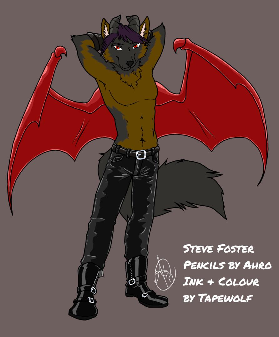 Steve Foster coloured