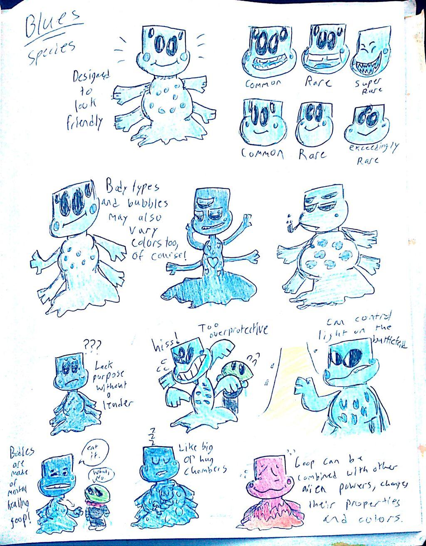 Blues (Alien Species)