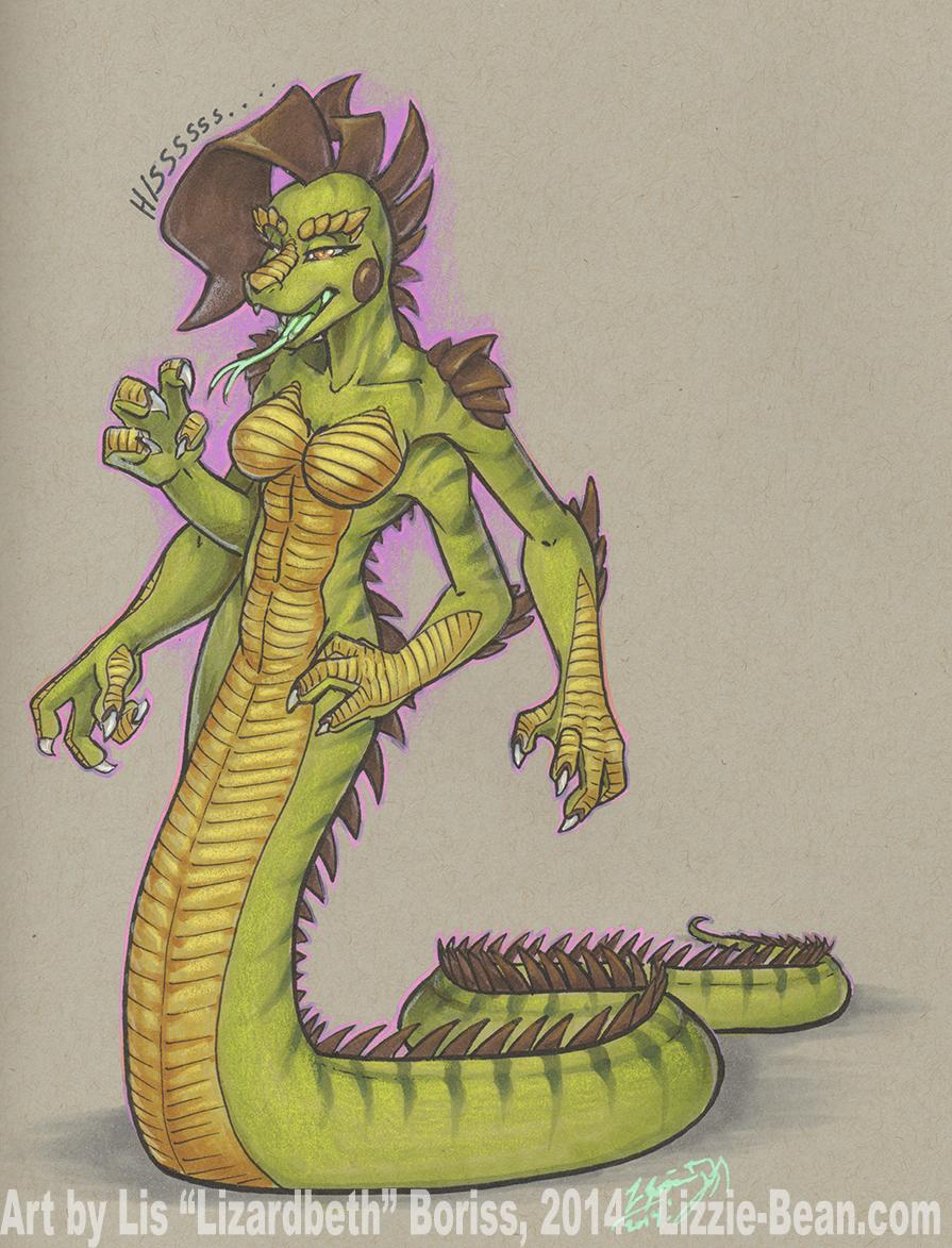 Iguanaga Liz (non-Kaiju version)