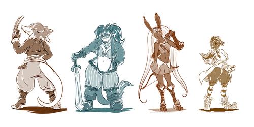 Final Fantasy gals for Kipper0308 batch 2