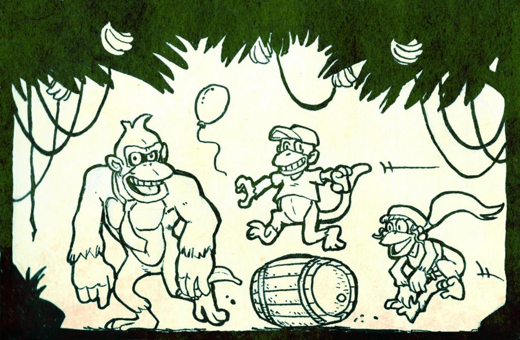 Kong ink