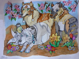 Le Printemps des Daiyamondo wolves