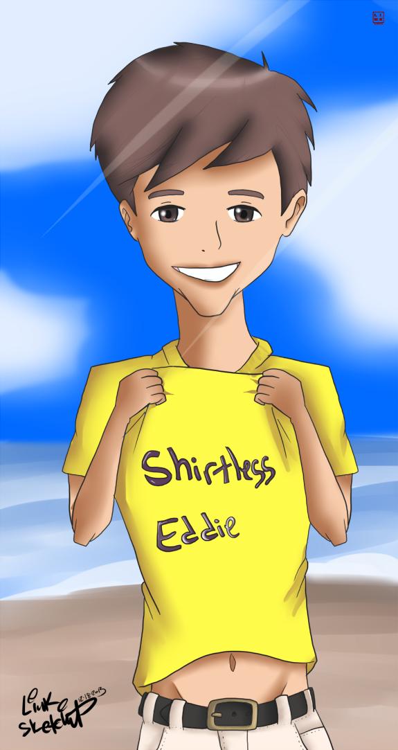 Shirtless Eddie