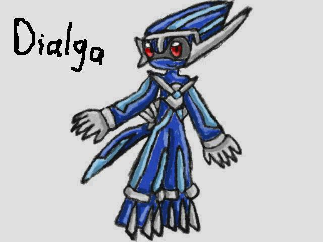 Mobian Dialga