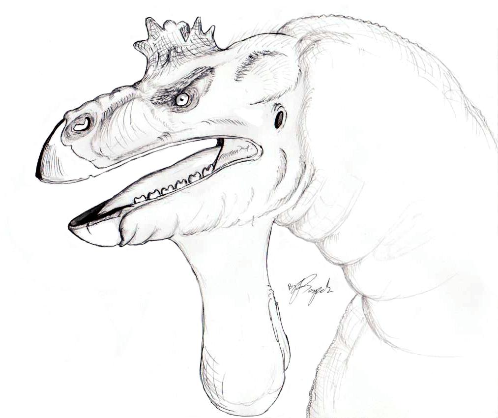 Quacking Iguanodon