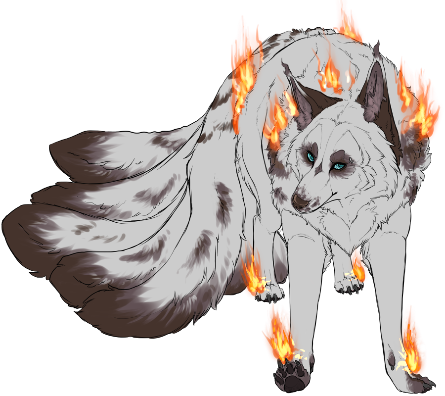 Most recent image: Fire Kitsune