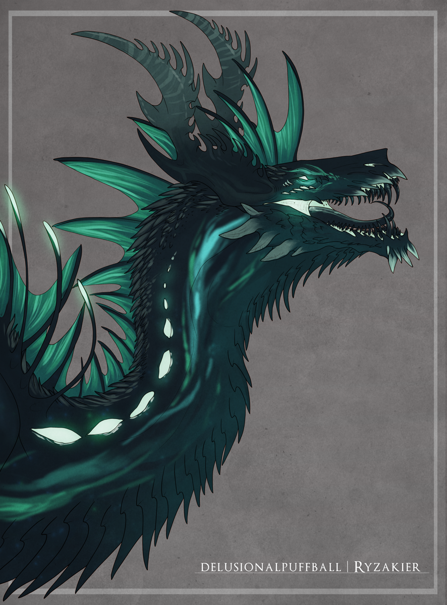 Most recent image: Space Wyvern - Bust Bonus Finished