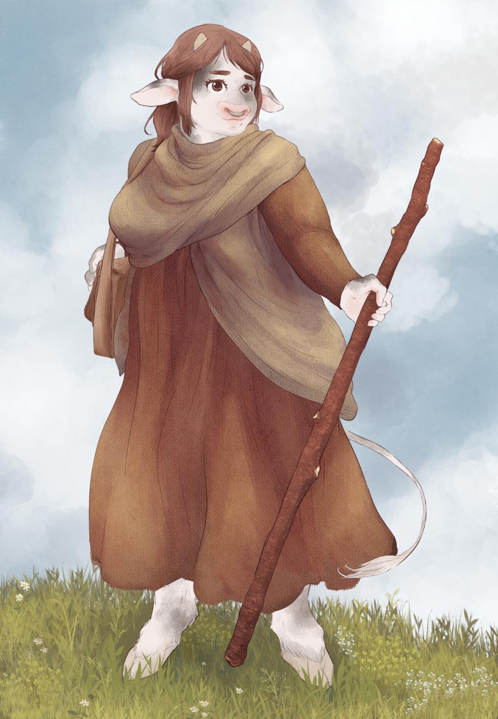 Deirdre Lyne - Iron Claw Campaign Portrait