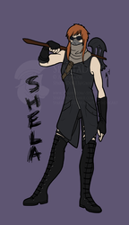 Commission - Shela Badge
