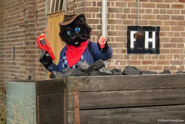 Ironfest Promo 2018: Coal Cat Battle Cat