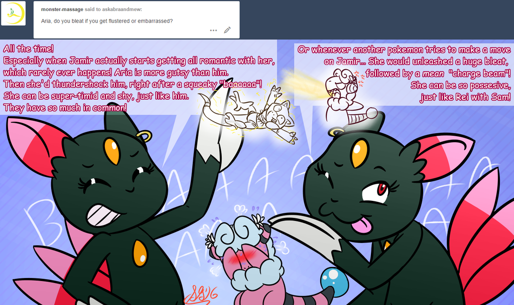 Ask Abra and Mew question #112