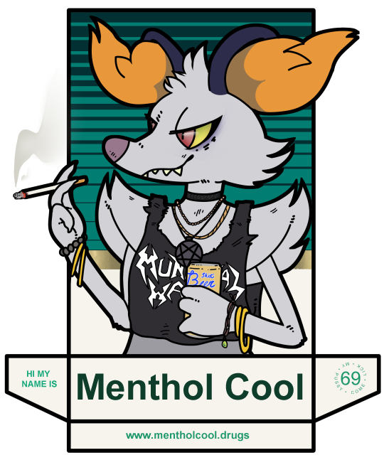 menthol cool badge