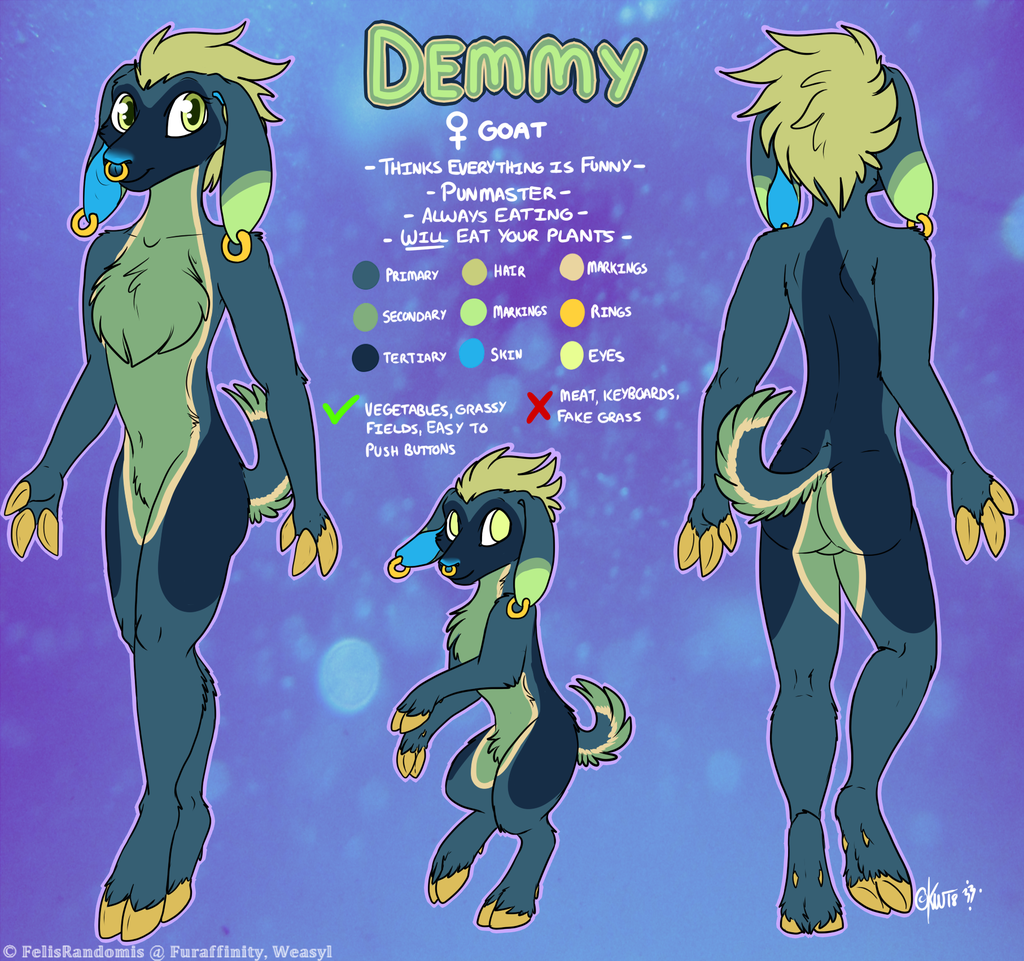 Demmy Reference