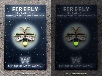 Firefly Glow Pins!