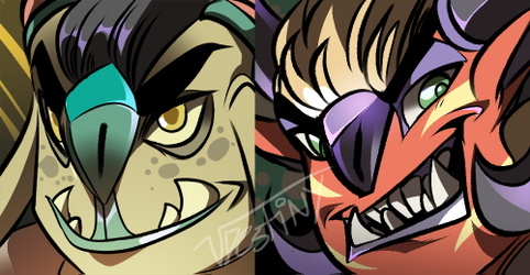 Troll Icons (COMMISSION)
