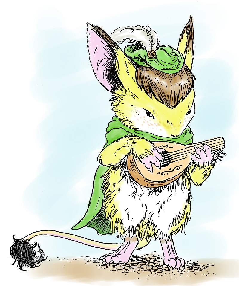Mouse Guard Miko